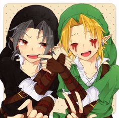 BEN Drowned & Shadow Link