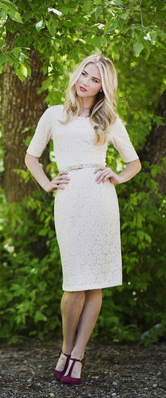 1/2 sleeve April Dress [MW22874] - $64.99 : Mikarose Boutique, Reinventing Modesty