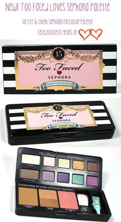 New! First Look: Too Faced Loves Sephora Eye