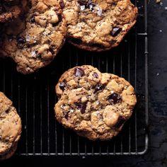 Salty Chocolate Chunk Cookies Recipe | Bon Appetit