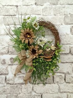 Berry Fall Wreath for Door Fall Decor Autumn by AdorabellaWreaths