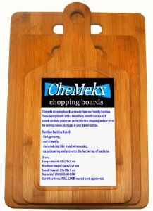 Great Bamboo chopping boards that are kind to knives