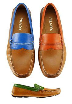 prada mens driving shoes