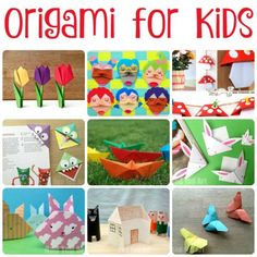 Easy Origami for Kids!