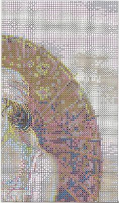 Схема вышивки ривьера