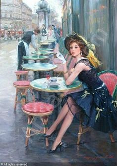 We are professional Konstantin·Razumov supplier and manufacturer in China.We can produce Konstantin·Razumov according to your requirements.More types of Konstantin·Razumov wanted,please contact us right now! Art Vintage, Cafe Art, Beautiful Paintings, Classic Paintings, Belle Photo, Oeuvre D'art, Female Art, Painting & Drawing, Painting Styles