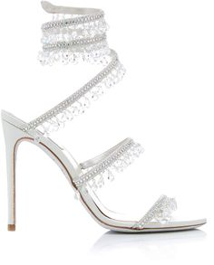Get inspired and discover Rene Caovilla trunkshow! Shop the latest Rene Caovilla collection at Moda Operandi. Fancy Shoes, Cute Shoes, Me Too Shoes, Stilettos, High Heels, Heeled Boots, Shoe Boots, Best Bridal Shoes, Rene Caovilla