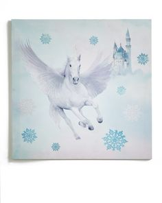 Fairytale glitter canvas- Arthouse