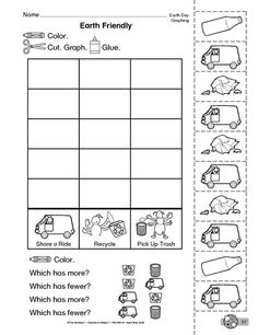 earth day matching worksheet classroom units pinterest earth day worksheets and kid. Black Bedroom Furniture Sets. Home Design Ideas
