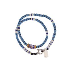 Venetian Millefiori, Flat Ended Beads Necklace #1347 | Necklaces | Jewelry — Deco Art Africa - Decorative African Art - Ethnic Tribal Art - ...