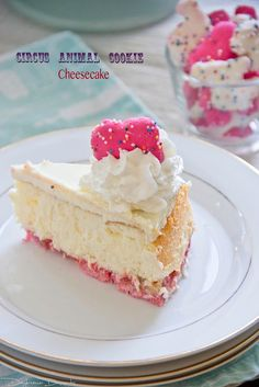Circus Animal Cookie Cheesecake - http://daydreamerdesserts.com/2012/10/circus-animal-cookie-cheesecake.html/