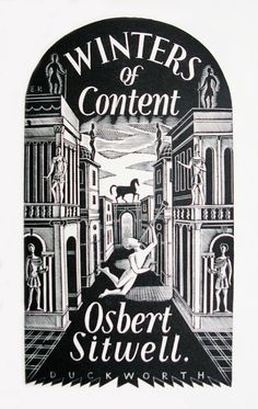 ART & ARTISTS: Eric Ravilious – part 1 / Title page for 'Winters of Content' by Osbert Sitwell / Eric Ravillious 1935