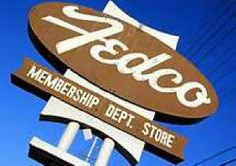 Fedco. The produce section, pizza and candy apples! This was Price Club and Costco back in the day....