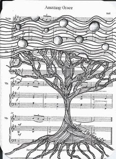 Deep Magic Tangles - zentangle on sheet music or book pages Zentangle Drawings, Doodles Zentangles, Doodle Drawings, Doodle Art, Zentangle Patterns, Collages, Pen Doodles, Art Folder, Tangle Doodle