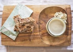 These bars are not only to die for, but they're super easy to make in your own kitchen, and their made from REAL whole food ingredients – the perfect recipe trifecta. Sprout Recipes, Granola Bars, Perfect Food, Mocha, Sprouts, Whole Food Recipes, Health, Easy, Salud