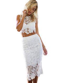 sexy two piece lace dress