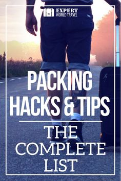 Learn how to pack even more and better with these travel packing hacks and tips. For beginners or pros, you will not make the same travel mistakes again.