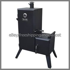 Barbecue BBQ Grill Cooker Black NEW Smoker Vertical Offset Charcoal DynaGlo JM545744565467341167068 -- See this great product.