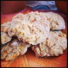The Soulful Spoon: Pumpkin Oatmeal Cookies- Gluten Free, Vegan