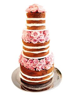 Wedding Cakes Without Icing