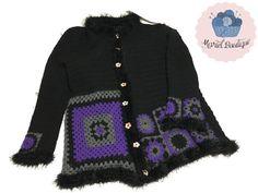 cardigan granny crochet
