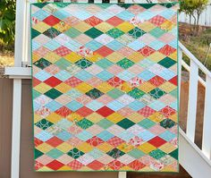 verdant finished quilt | by ericajackman