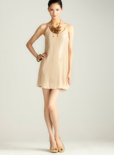 Stretch sequins w/ ggt dress