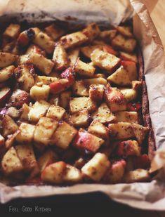 Glutenfree & vegan apple pie. No refined sugar! // Feel Good Kitchen