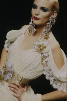 Nadja for Christian Lacroix, s/s 1995 www.fashion.net
