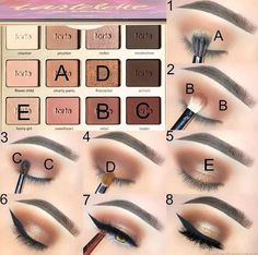 Best Ideas for Makeup Tutorials: Likes, 134 Comments - Tarte Cosmetics . - Make Up - Makeup Eye Makeup Steps, Smokey Eye Makeup, Skin Makeup, Eyeshadow Makeup, Makeup Brushes, Blue Eyeshadow, Makeup Geek, Smoky Eye, Neutral Eyeshadow