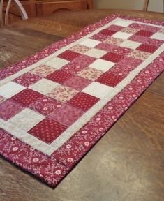 Quilted Table Runner country table