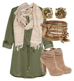 """Untitled #1"" by brooksied1775 ❤ liked on Polyvore featuring H&M, Jessica Simpson and ALDO"