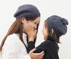 親子でコンサバベレー帽(おとな用・こども用) | 手づくりレシピ | クロバー株式会社