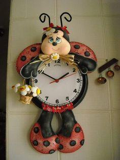 Joaninha relógio