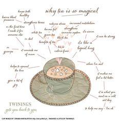 why tea is magical <3 lemon ginger tea: my fave!