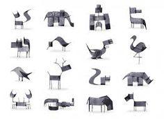Resultado de imagem para animais minimalistas