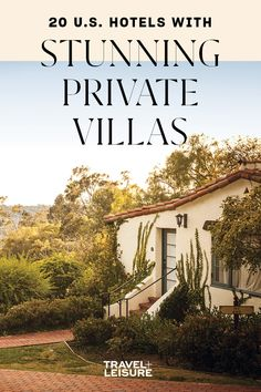 Find your home away from home at these U.S. hotels with private #villas. #privatetravel #remotetravel #travel #solotravel #familytravel #romantictrip #coupletravel Travel Couple, Family Travel, Best Family Vacations, Sore Eyes, Long Flights, Travel Stuff, Romantic Travel, Home And Away, Rhode Island