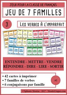 7F - Les verbes 3 - Imparfait | Mondolinguo - Français