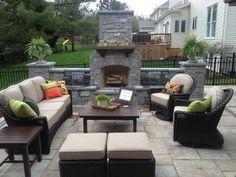 Patio, outdoor living room