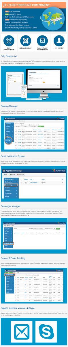 JB Flight Booking Joomla Component on Behance