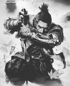 Arte Ninja, Ninja Art, Ronin Samurai, Samurai Warrior, Japanese Tattoo Art, Japanese Art, Japanese Tattoo Samurai, Japanese Dragon, Arte Viking