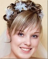 Peinados de novia cabello corto 2015