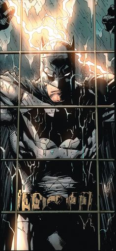 Batman by Tony S. Daniel - Comic Book Art - Gotham City - DC Comics - Bruce Wayne