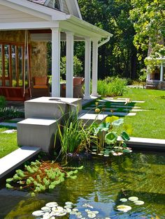 porch koi pond design pictures remodel decor and ideas
