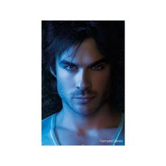 Close Up of the Gorgeous Damon Salvatore, Ian Somerhalder from The... (6.94 AUD) ❤ liked on Polyvore featuring home, home decor, people, vampire diaries, ian somerhalder, boys and ian