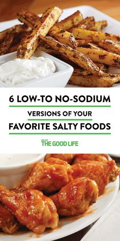6 Low- to No-Sodium Versions of Your Favorite Salty Foods