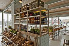 Restaurant Bio, Restaurant Design, Organic Restaurant, Cafe Design, Store Design, Interior Design, Decoration Restaurant, Nosara, Restaurants