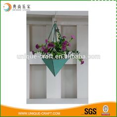 2016 Metal Hanging Decorative Flower Planter - Buy Decorative Hanging Flower Planters,Hanging Metal Planters,Metal Flower Hanging Planter Product on Alibaba.com