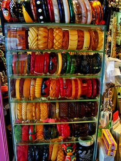 DSC01659 vintage bakelite bangles by godutchbaby, via Flickr