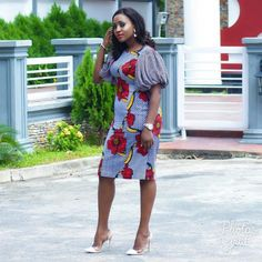 Check Out this lovely Ankara Short Gown Styles - DeZango Fashion Zone